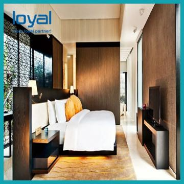 Contemporary Oriental Style Hotel Bedroom Furniture Set for Resort