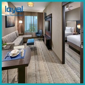 Economical Chain Cheap Bedroom Hotel Furniture For Suite / Beds For Apartments