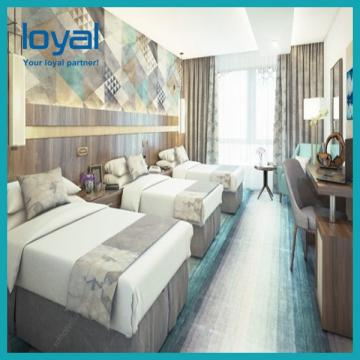 Buy Modern Hotel Bedroom Furniture Set 3 Star Hotel Upholstered Fabric Bed Shandong Jiahao Hotel Home Co Ltd