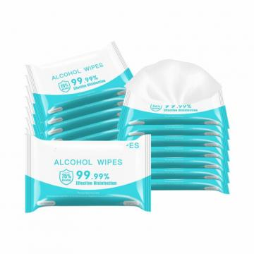 Bulk Package Carry Disinfecting Fragrance Free Antiseptic Wet Wipes FDA/Ce Approved Antibacterial