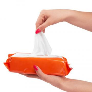 Disinfecting Disposable Bulk Baby Wet Tissue Wipes Hand Antibacterial Wipes
