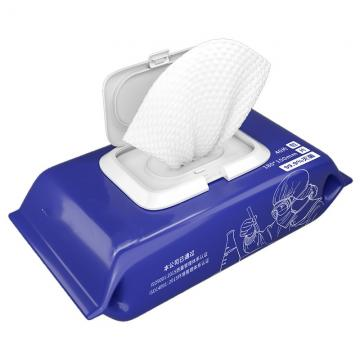 Economical/Vehicle-Mounted/Portable/Hand/Face Sanitizer Cleaning/Disinfecting 75% Alcohol Wet Wipe in Barrel Packing Use for Floor Travel/Car/House/School