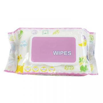 10 pcs Individually wrapped disposable body hand cleaning facial fresh wet wipes